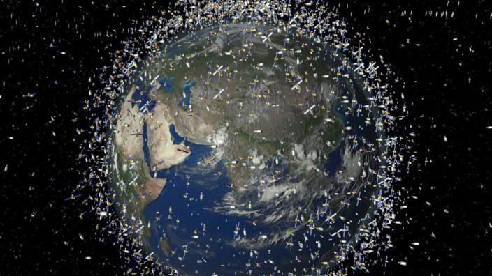 Chinesischer Weltraumschrott zwingt ISS zu Ausweichmanöver