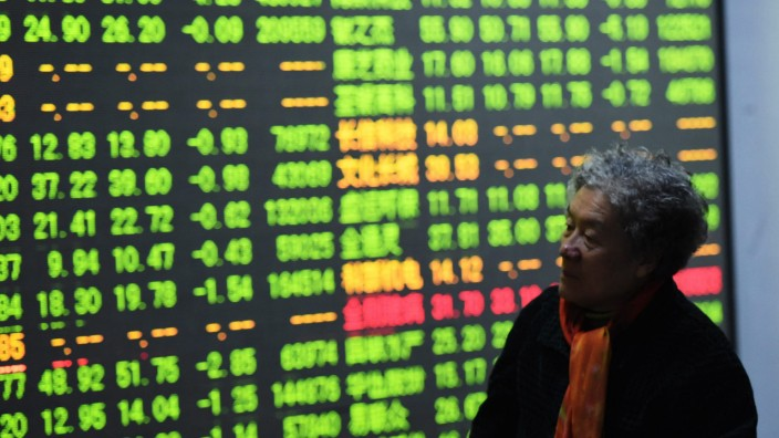 China trading halted after shares plummet
