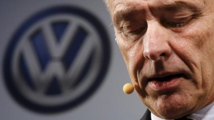 Volkswagen-Chef Müller