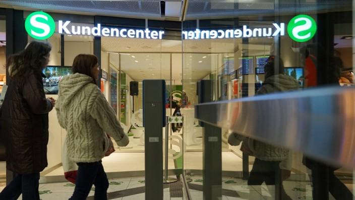 S-Bahn: Kundencenter der S-Bahn am Hauptbahnhof.