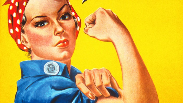 USA: 'Rosie the Riveter', Westinghouse, 1942.