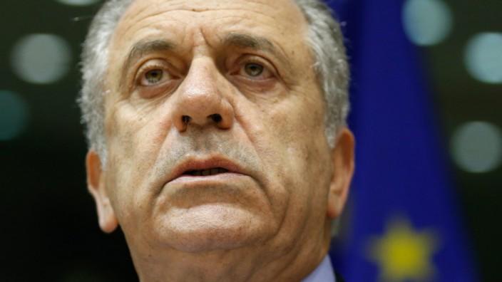 EU Commissioner Dimitris Avramopoulos