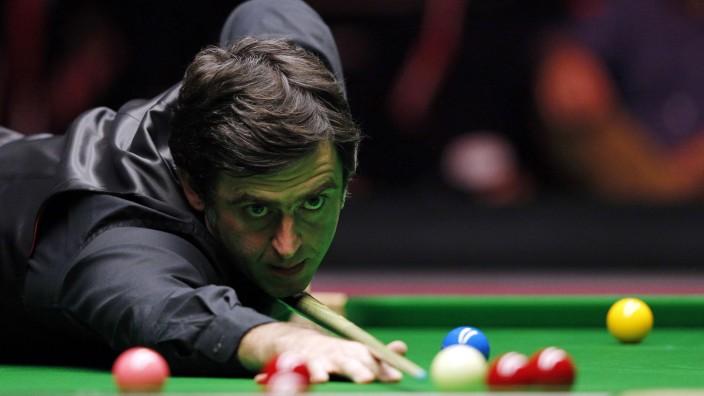 Ronnie O'Sullivan: Nichts zählt mehr, außer der nächsten Kugel: Der fünffache Weltmeister Ronnie O'Sullivan, 41 Jahre alt, Sieger der English Open.