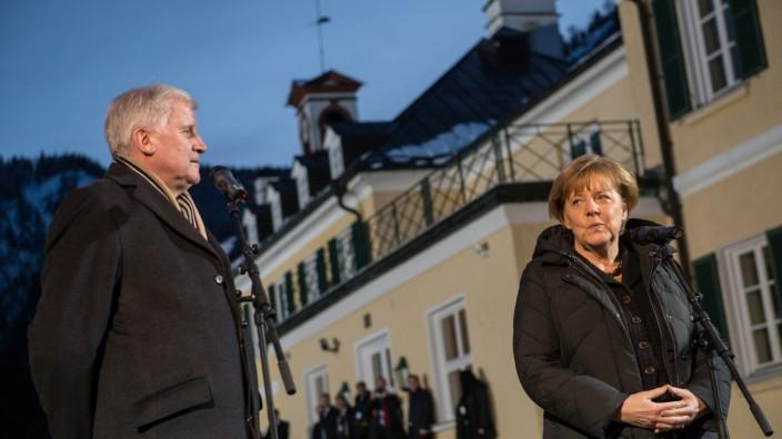 Merkel in Wildbad Kreuth