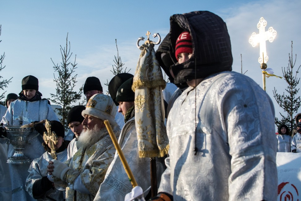 Russian Orthodox Celebrate Epiphany In Siberia