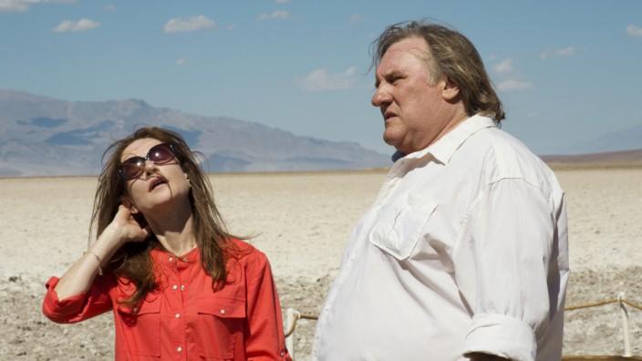 """Isabelle Huppert und Gérard Depardieu in """"Valley of Love""""."""