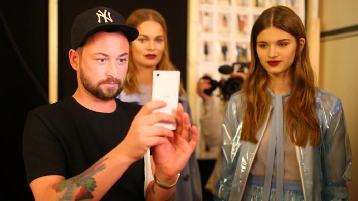 Marcel Ostertag Backstage - Mercedes-Benz Fashion Week Berlin Autumn/Winter 2016