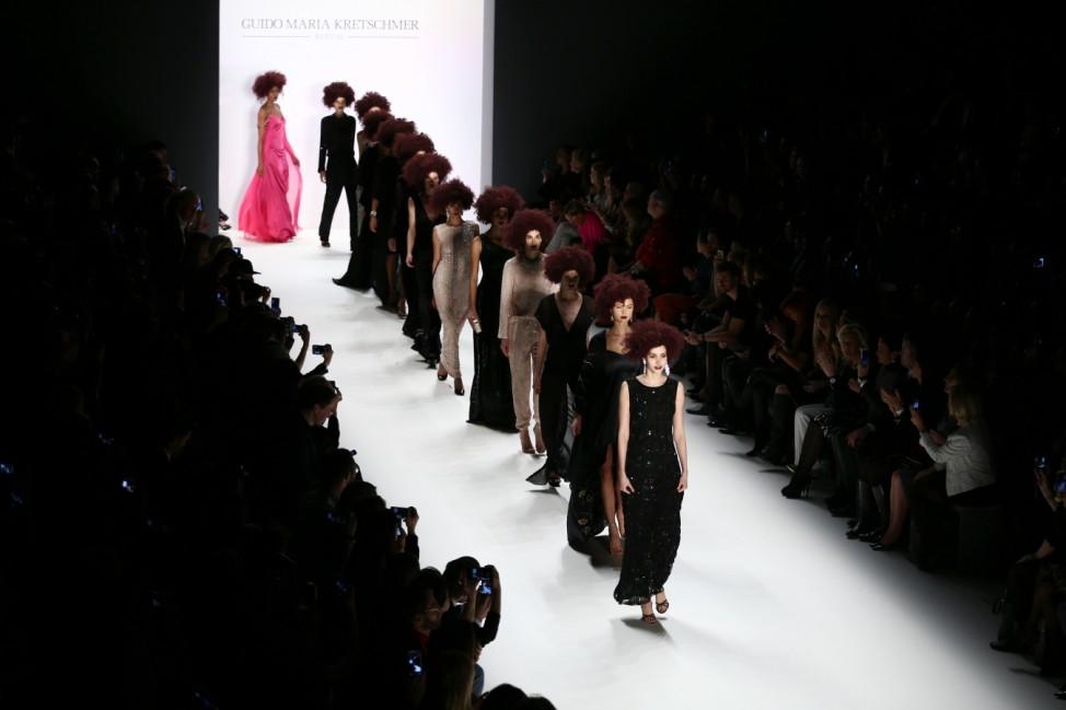 Guido Maria Kretschmer Show - Mercedes-Benz Fashion Week Berlin Autumn/Winter 2016