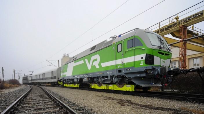 Breitspur-Lok Vector von Siemens auf Loko-Buggys von Railadventure.