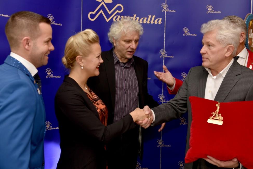 Miroslav Nemec und Udo Wachtveitl bekommen Karl-Valentin-Orden, 2015
