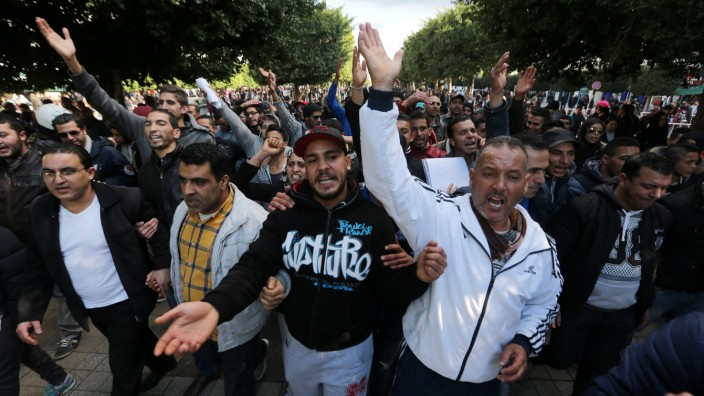 Proteste in Tunesien