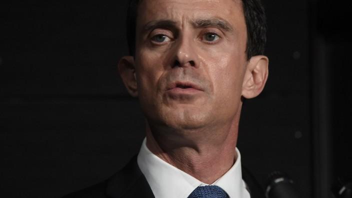 Frankreichs Premierminister Manuel Valls