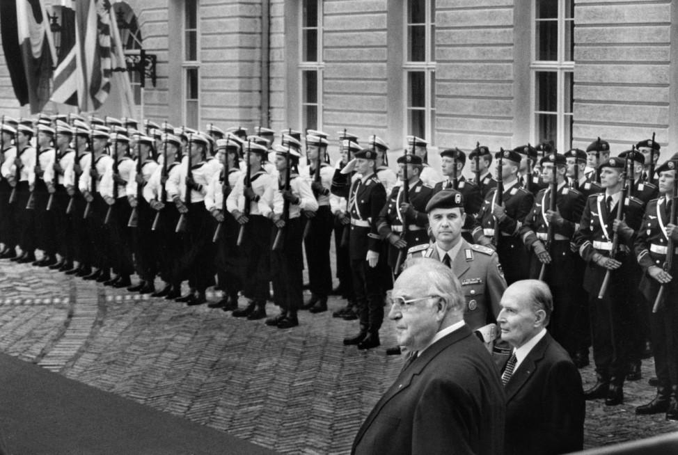Offizieller Abschied von den alliierten Truppen in Berlin, 1994; Helmut Kohl