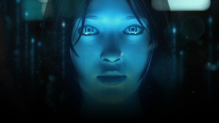 Microsofts Sprachassistentin Cortana: Cortana ist offen für alle möglichen Fragen, aber viele Internet-Nutzer haben Hemmungen, die Sprachassistentin anzusprechen.