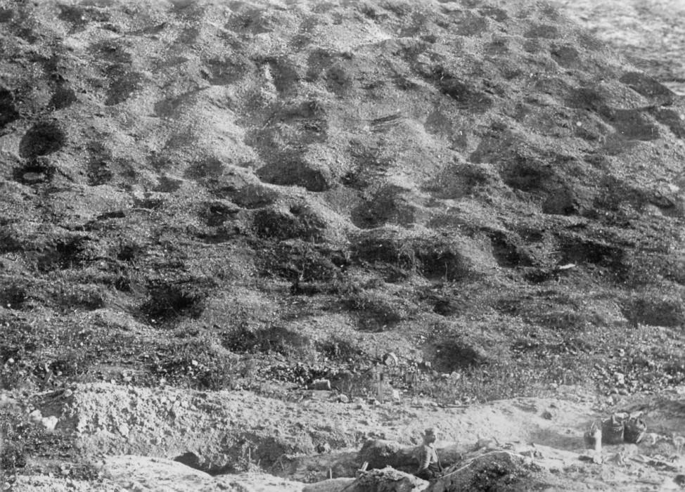 Trichterfeld bei Verdun, 1916