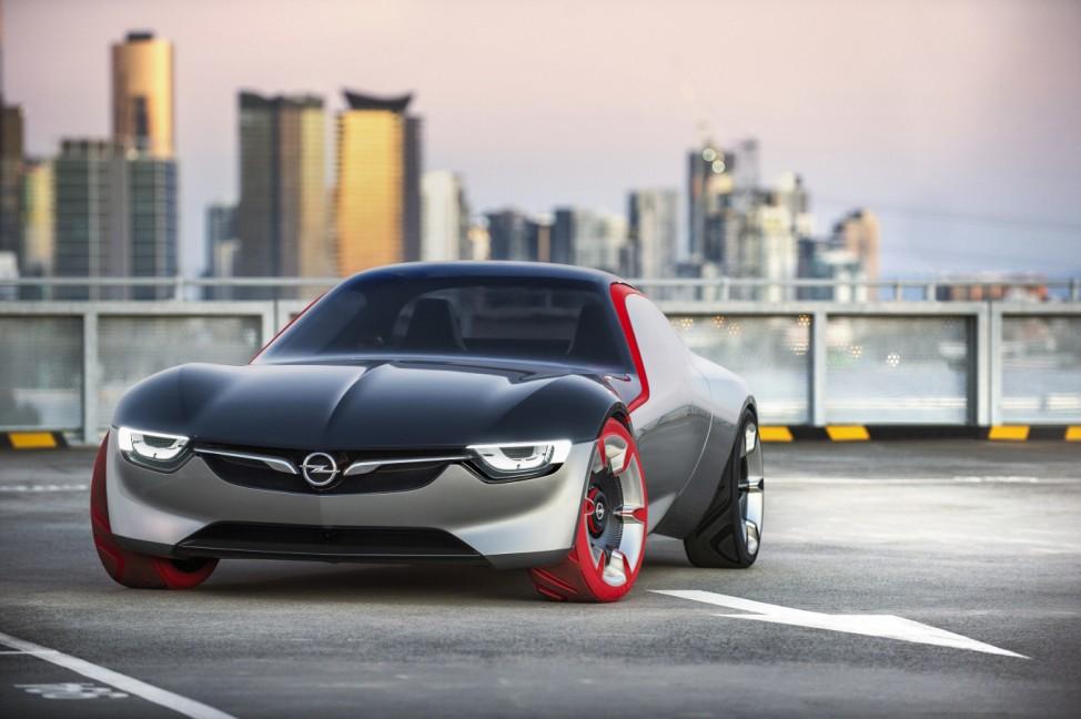 Der Opel GT Concept: So sieht der Sportwagen der Zukunft aus