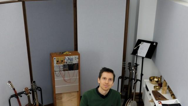Computerspiele: Meister vieler Instrumente: Game-Musiker Filippo Beck Peccoz.