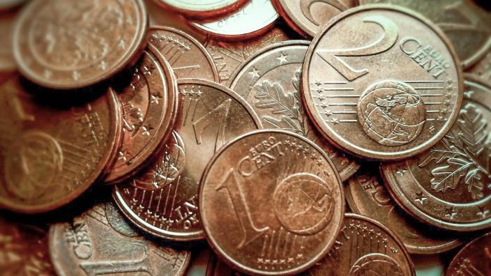 Kupfergeld: Unbeliebtes Kupfergeld: In Italien werden die Beträge künftig aufgerundet.