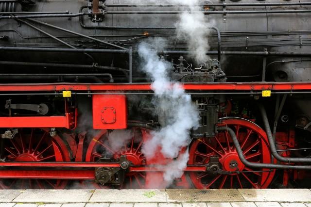 """Dampflokomotive beim Jubiläum """"100 Jahre Lokalbahn Dachau - Altomünster"""", 2013"""