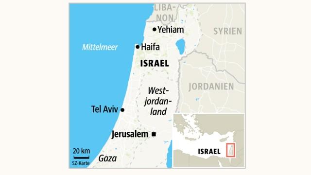 Israel: SZ-Grafik