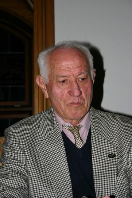 Zwi Katz, Überlebender des Dachauer Todesmarschs der KZ-Häftlinge, 2005