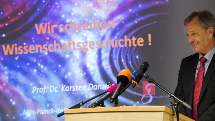 Gravitationswellen, Karsten Danzmann, Direktor am Max-Planck-Institut für Gravitationsphysik