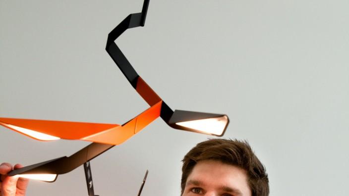 Ignaz Neuhäuser betreibt Lampen-Start-up mit der innovativen Lampe to go. FAMOOS OHG