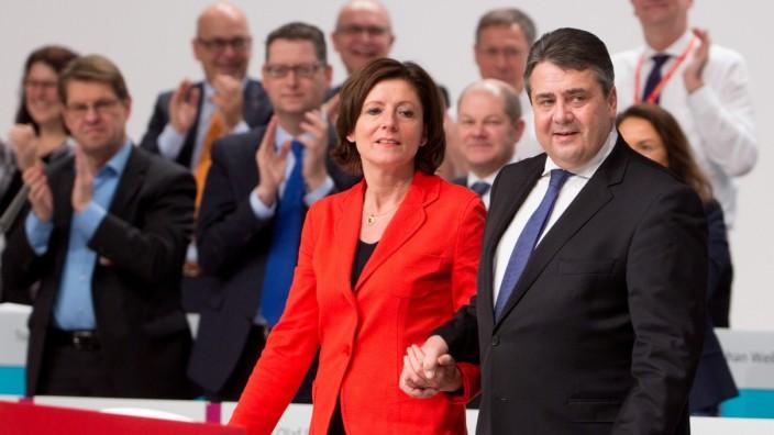 Sigmar Gabriel und Malu Dreyer