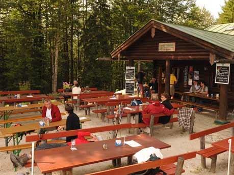 Touren in den Alpen Isidor-Klettersteig Grünstein, Stefan Herbke