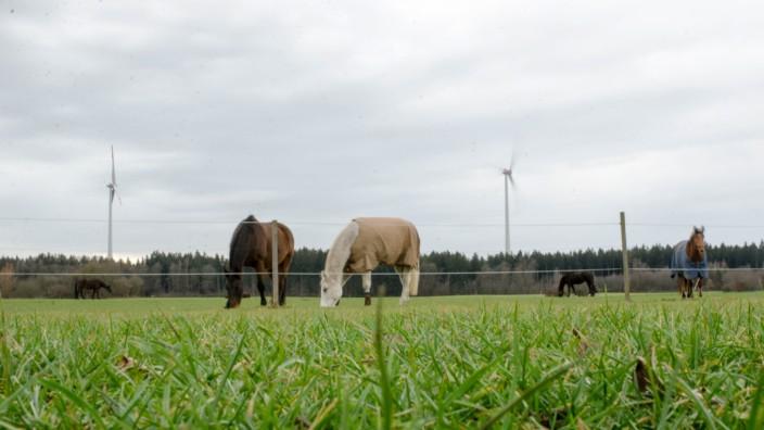 Energiewende im Landkreis: An Windkraftanlagen führt zumindest nach Ansicht der Grünen auch weiterhin kein Weg vorbei.
