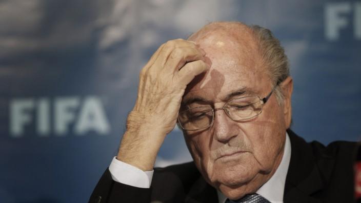 Fifa: Sepp Blatter: Eifriger Honorar-Aussteller