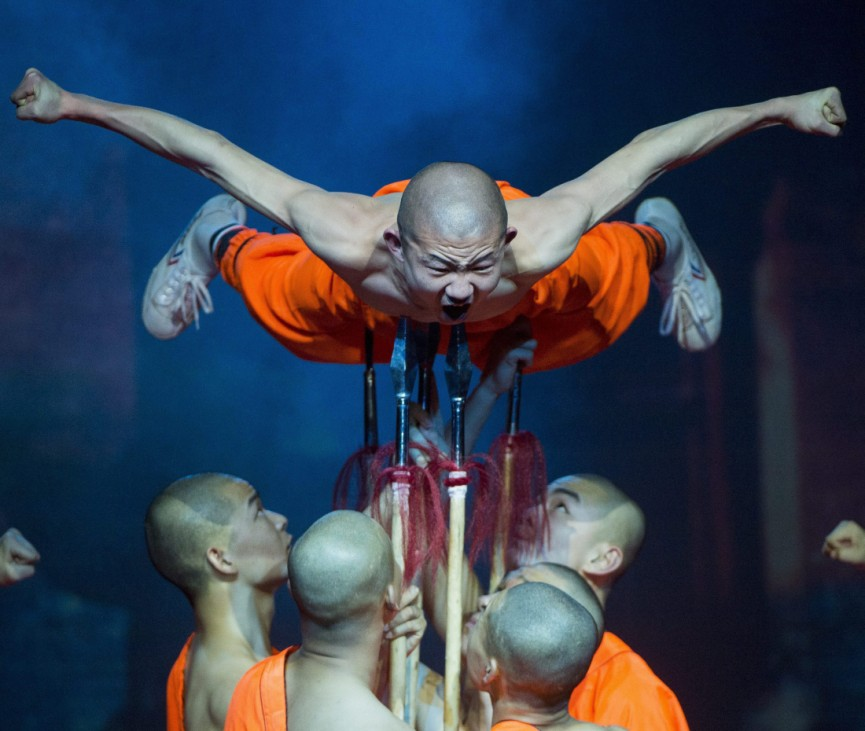 Shaolin Warriors in Budapest
