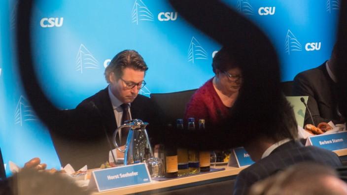 Sitzung CSU-Vorstand