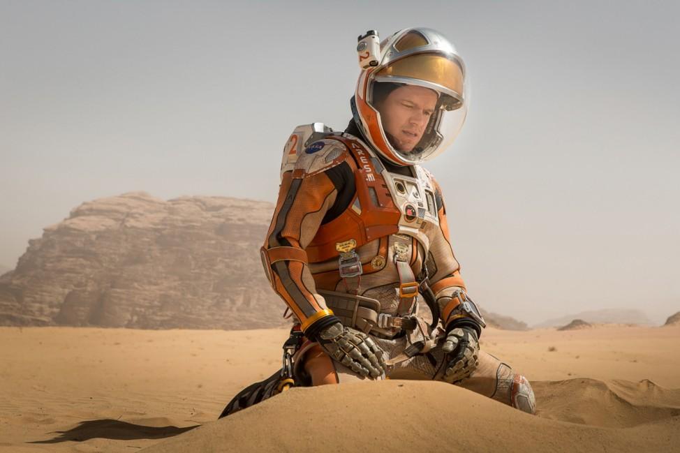 """Golden Globe ´Der Marsianer"""""""