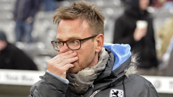 09 02 2015 Fussball 2 Bundesliga 2014 2015 20 Spieltag TSV 1860 München 1 FC Heidenheim in der