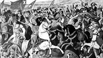 Die Schlacht auf dem Amselfeld