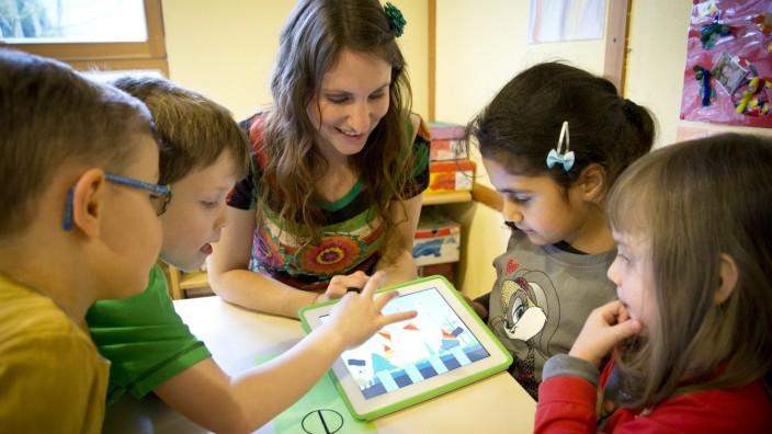 Krumbach: DIGITAL-Kindergarten / Evangelisches Haus der Kinder/ Haus der kinderbunten Wege