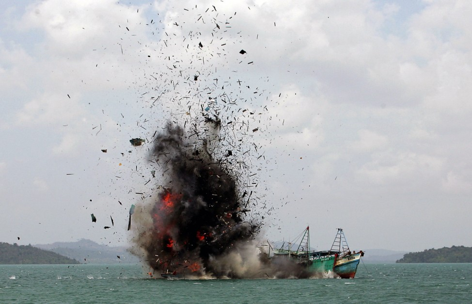 Illegal Fishing in Batam