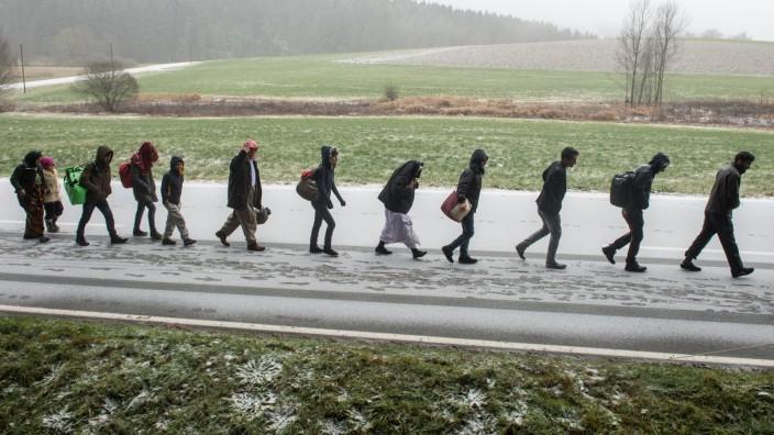 Flüchtlingsankünfte in Bayern deutlich gesunken