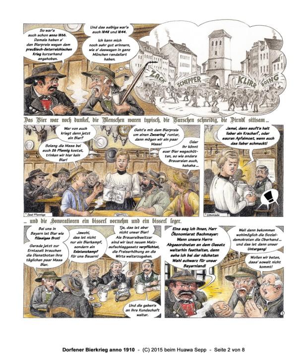 Biercomic - Volk-Verlag - Bierkrieg