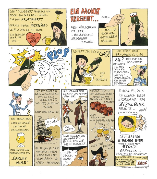 Biercomic - Volk-Verlag - selber brauen