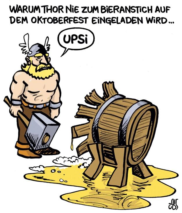 Biercomic - Volk-Verlag - Thor Anstich
