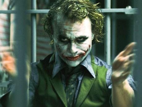 Heath Ledger als Joker in Dark Knight