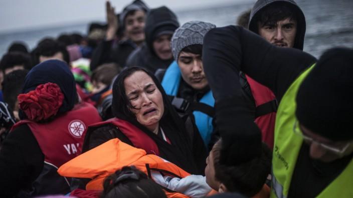 Flüchtlinge, Griechenland, Lesbos