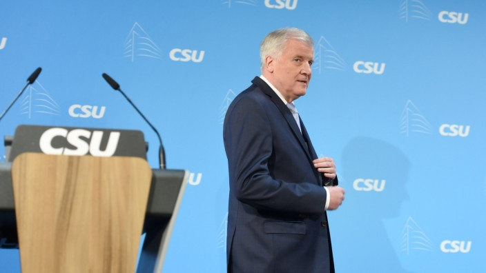 PK Seehofer zu EU-Gipfel