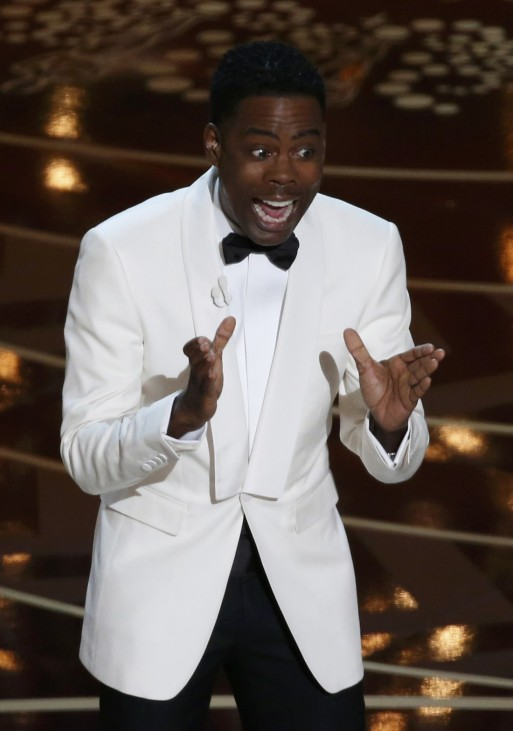 Comedian Chris Rock hosts the 88th Academy Awards in Hollywood
