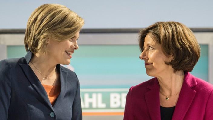 TV-Duell zwischen der rheinland-pfälzischen Ministerpräsidentin