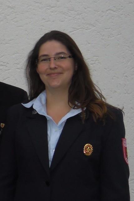 Manuela Fink, Feuerwehrkommandatin, die nach 19 Jahren aufhört, weil sie heiratet