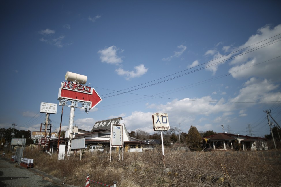 Homes And Businesses In Fukushima As Five Year Anniversary Of Devastating Tsunami Approaches