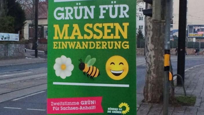 Fake-Plakate